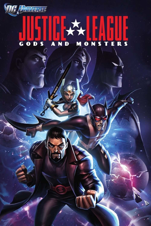 دانلود انیمیشن Justice League: Gods and Monsters 2015 با دوبله فارسی