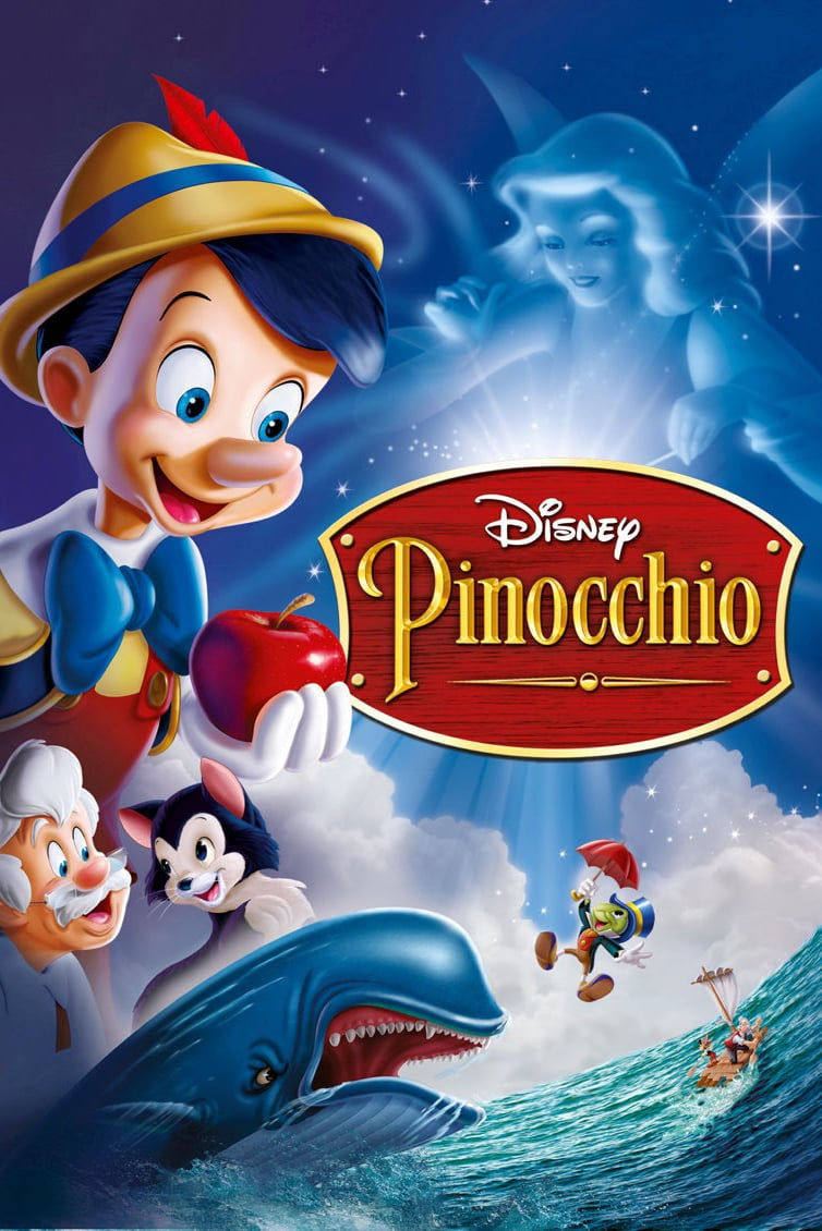 دانلود انیمیشن Pinocchio 1940 با دوبله فارسی