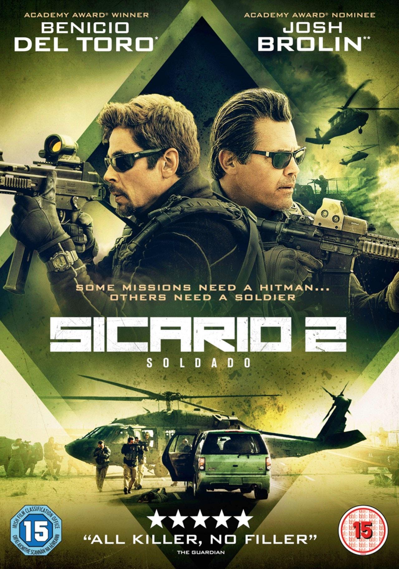 دانلود فیلم Sicario: Day of the Soldado 2018
