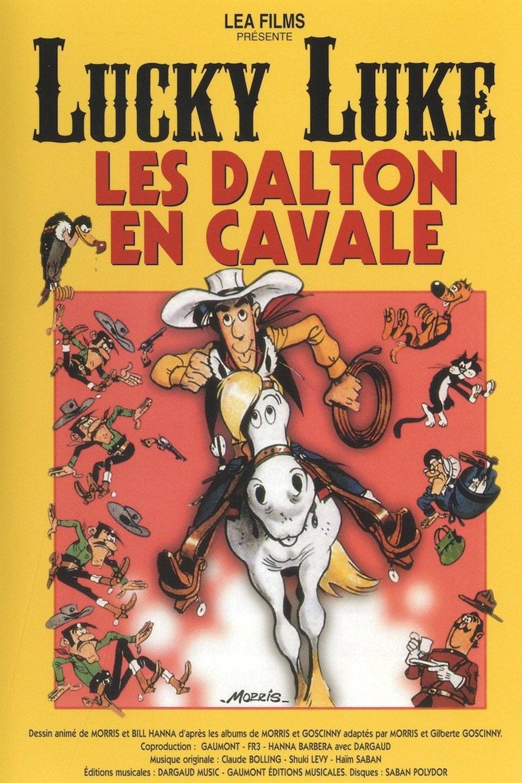 دانلود انیمیشن Lucky Luke: Daltons on the Loose 1983 با دوبله فارسی