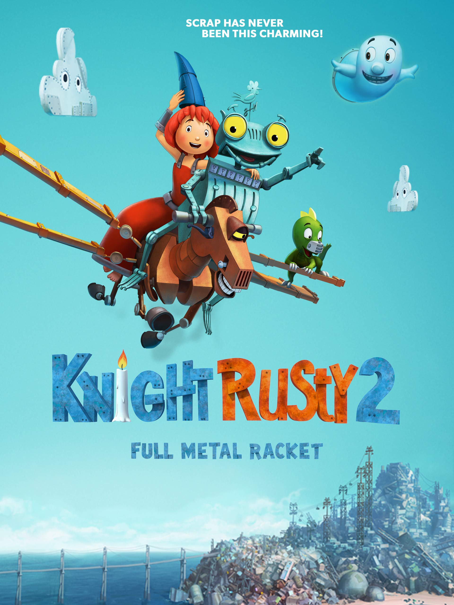 دانلود انیمیشن Knight Rusty 2: Full Metal Racket 2017 با دوبله فارسی