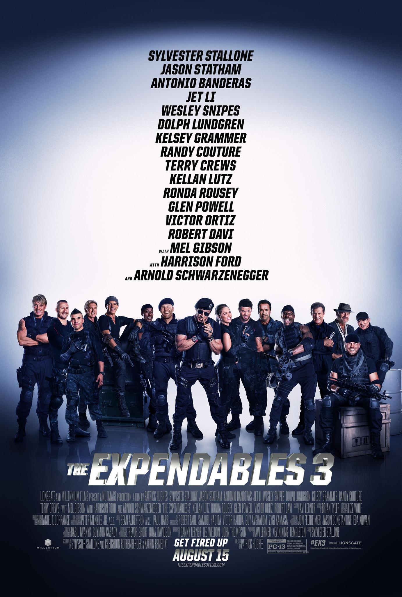 دانلود فیلم The Expendables 3 2014 با دوبله فارسی