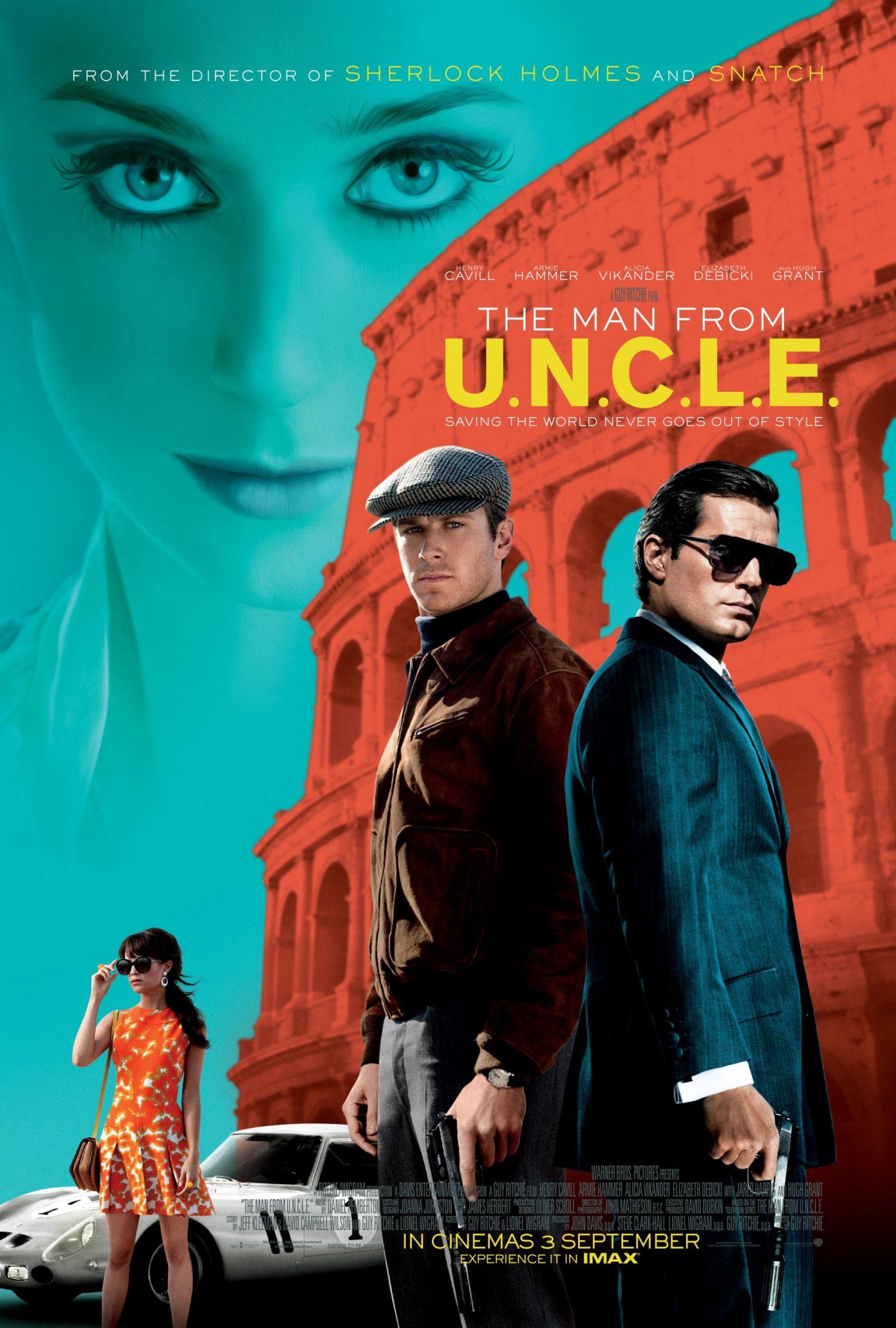 دانلود فیلم The Man from U.N.C.L.E. 2015 با دوبله فارسی