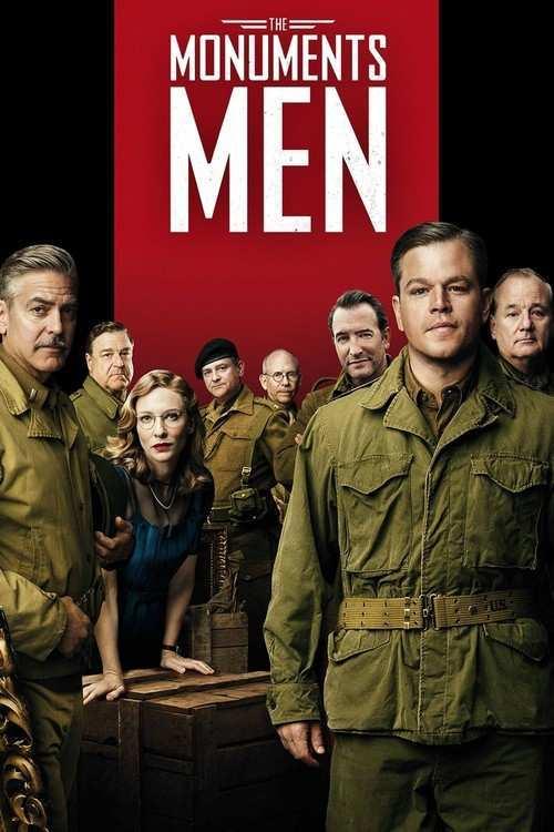دانلود فیلم The Monuments Men 2014 با دوبله فارسی