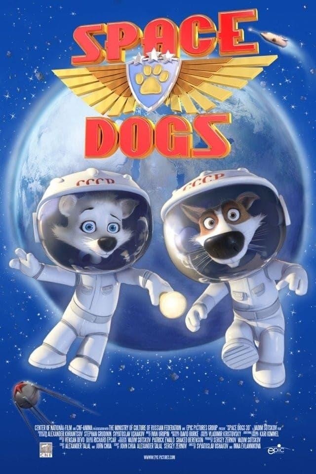 دانلود انیمیشن Space Dogs 2010 با دوبله فارسی