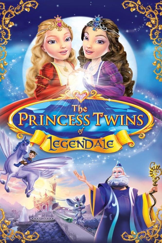 دانلود انیمیشن The Princess Twins of Legendale 2013 با دوبله فارسی