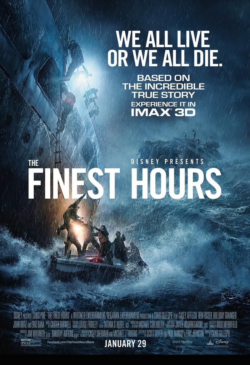 دانلود فیلم The Finest Hours 2016 با دوبله فارسی