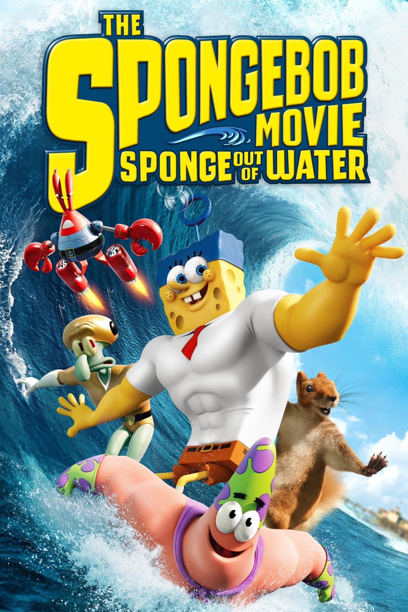 دانلود انیمیشن The SpongeBob Movie: Sponge Out of Water 2015 با دوبله فارسی