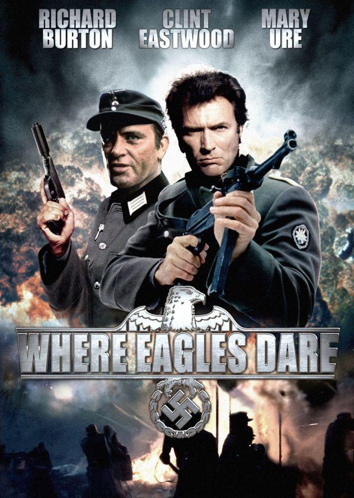 دانلود فیلم Where Eagles Dare 1968 با دوبله فارسی
