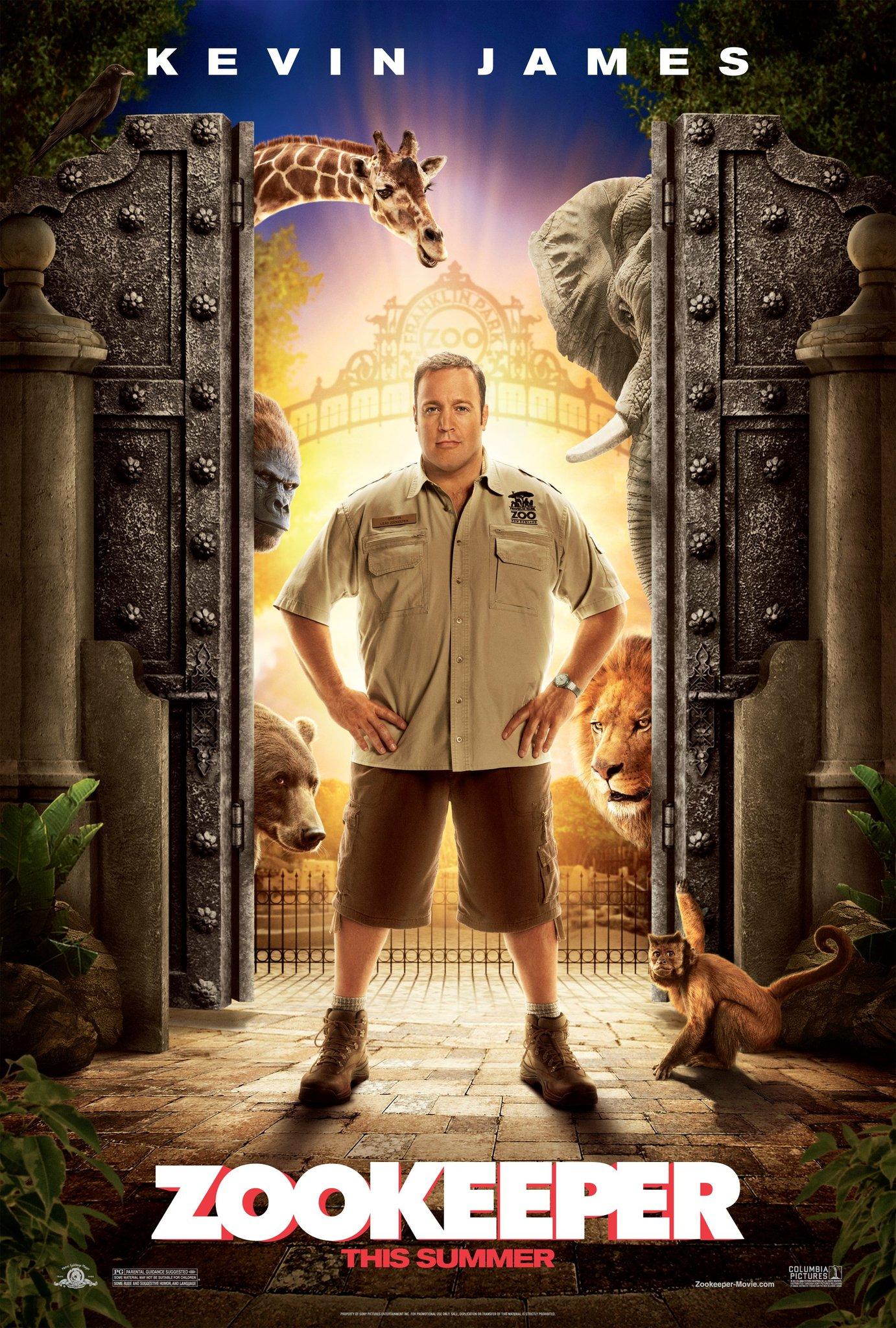 دانلود فیلم Zookeeper 2011 با دوبله فارسی