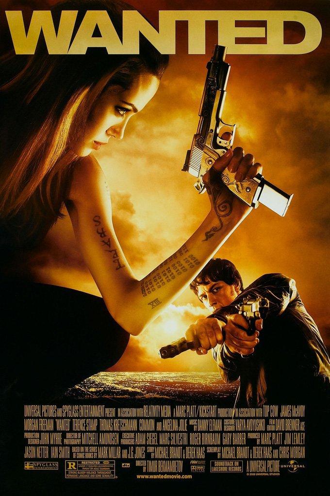 دانلود فیلم Wanted 2008 با دوبله فارسی
