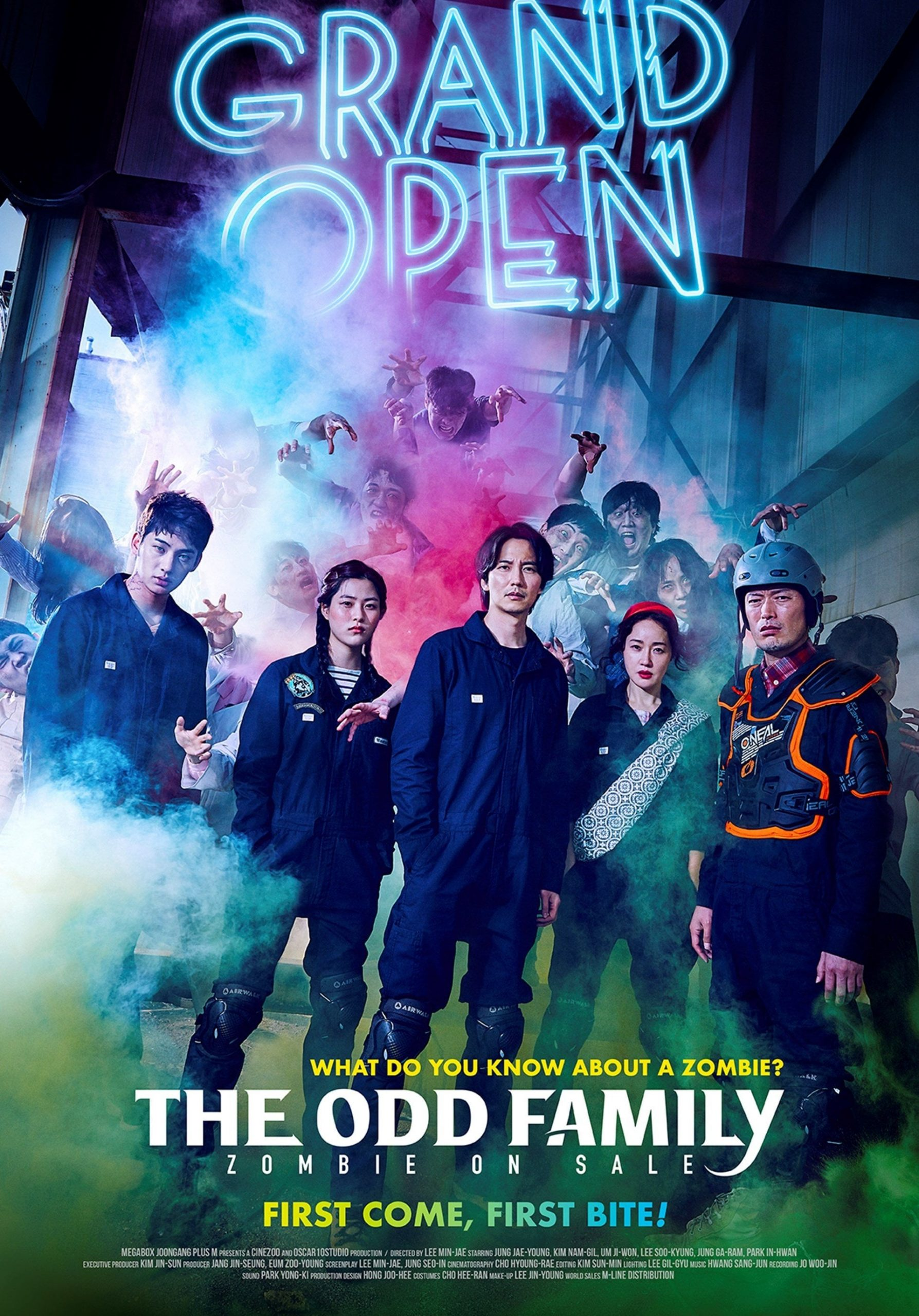 دانلود فیلم The Odd Family: Zombie on Sale 2019