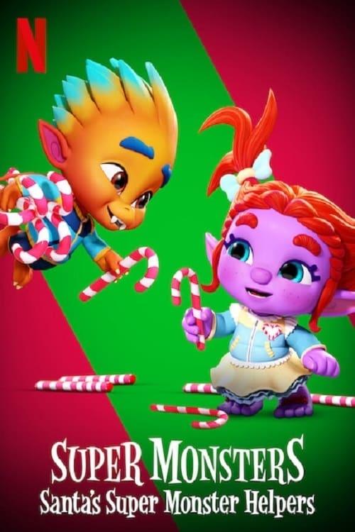 دانلود انیمیشنSuper Monsters: Santa's Super Monster Helpers 2020 با دوبله فارسی