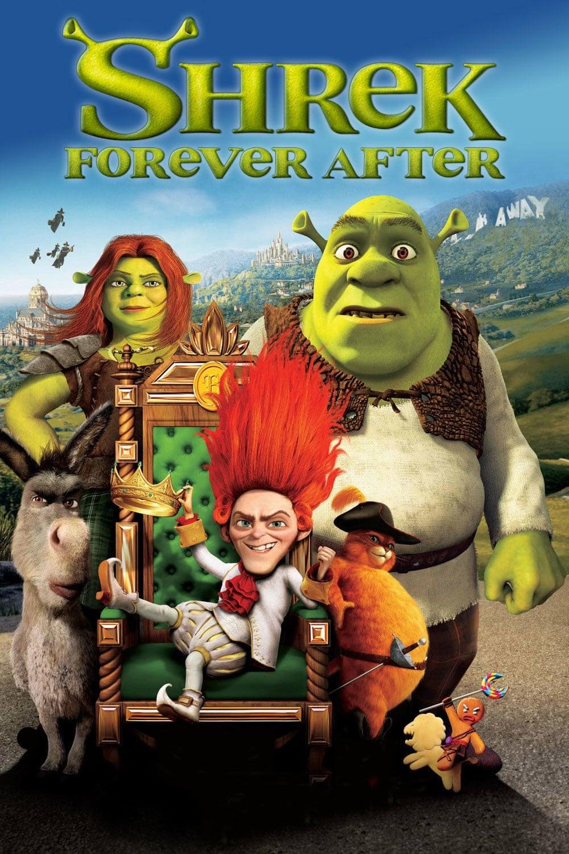 دانلود انیمیشنShrek Forever After 2010 با دوبله فارسی