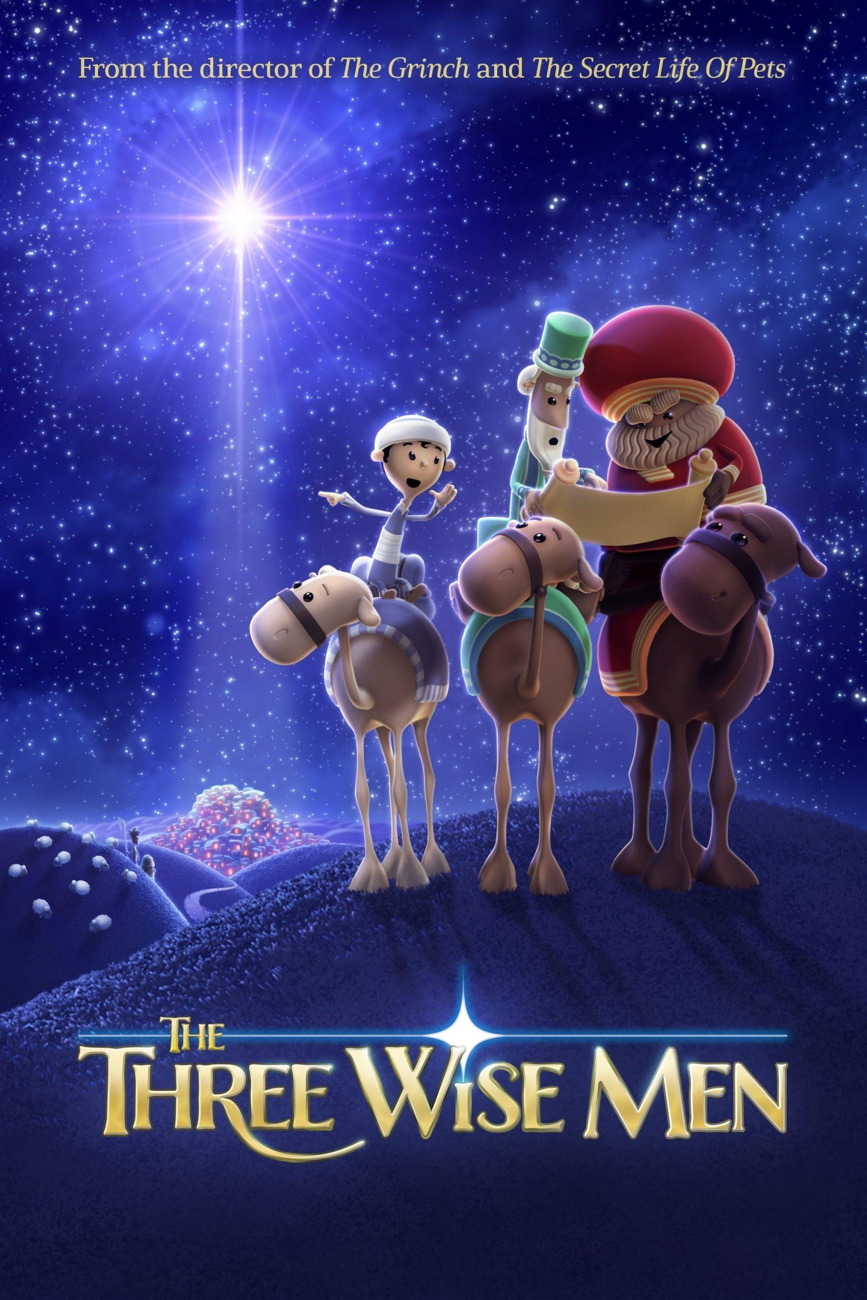 دانلود انیمیشنThe Three Wise Men 2020 با دوبله فارسی