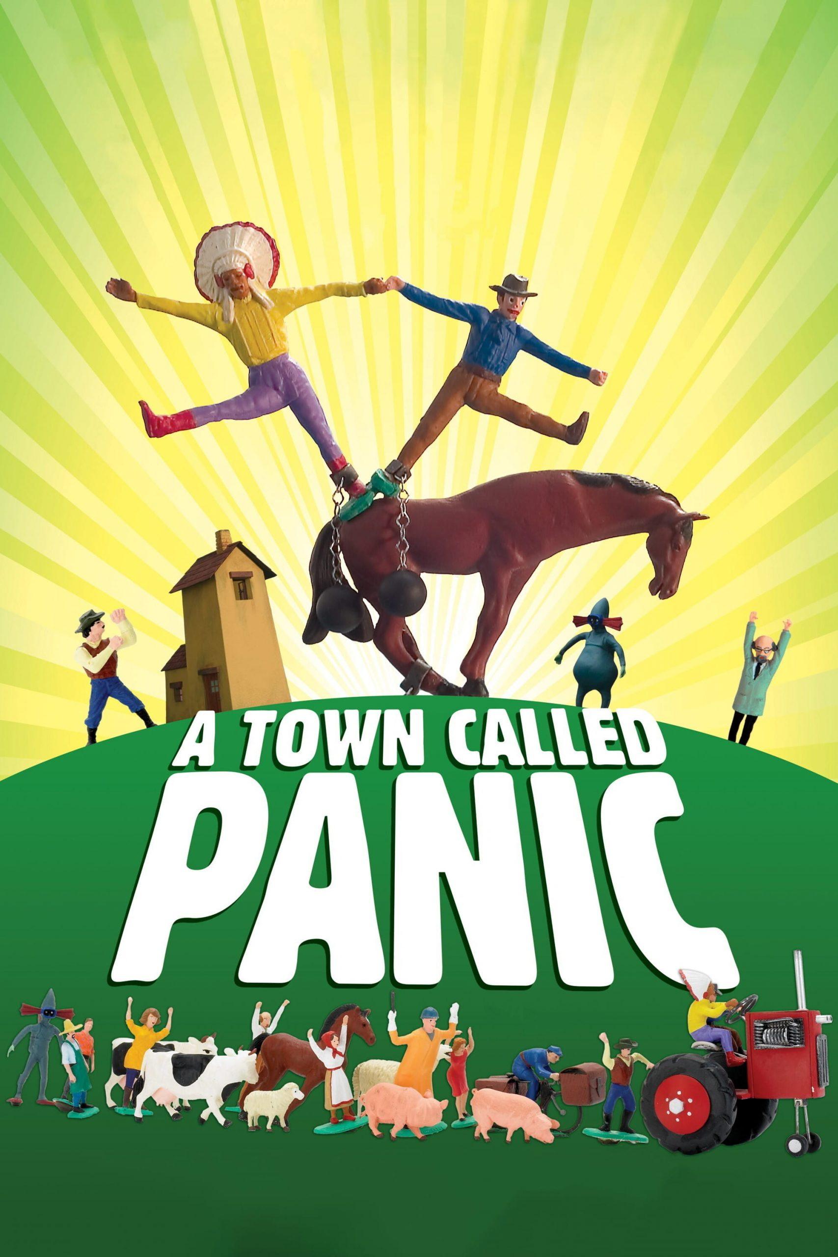 دانلود انیمیشن A Town Called Panic 2009
