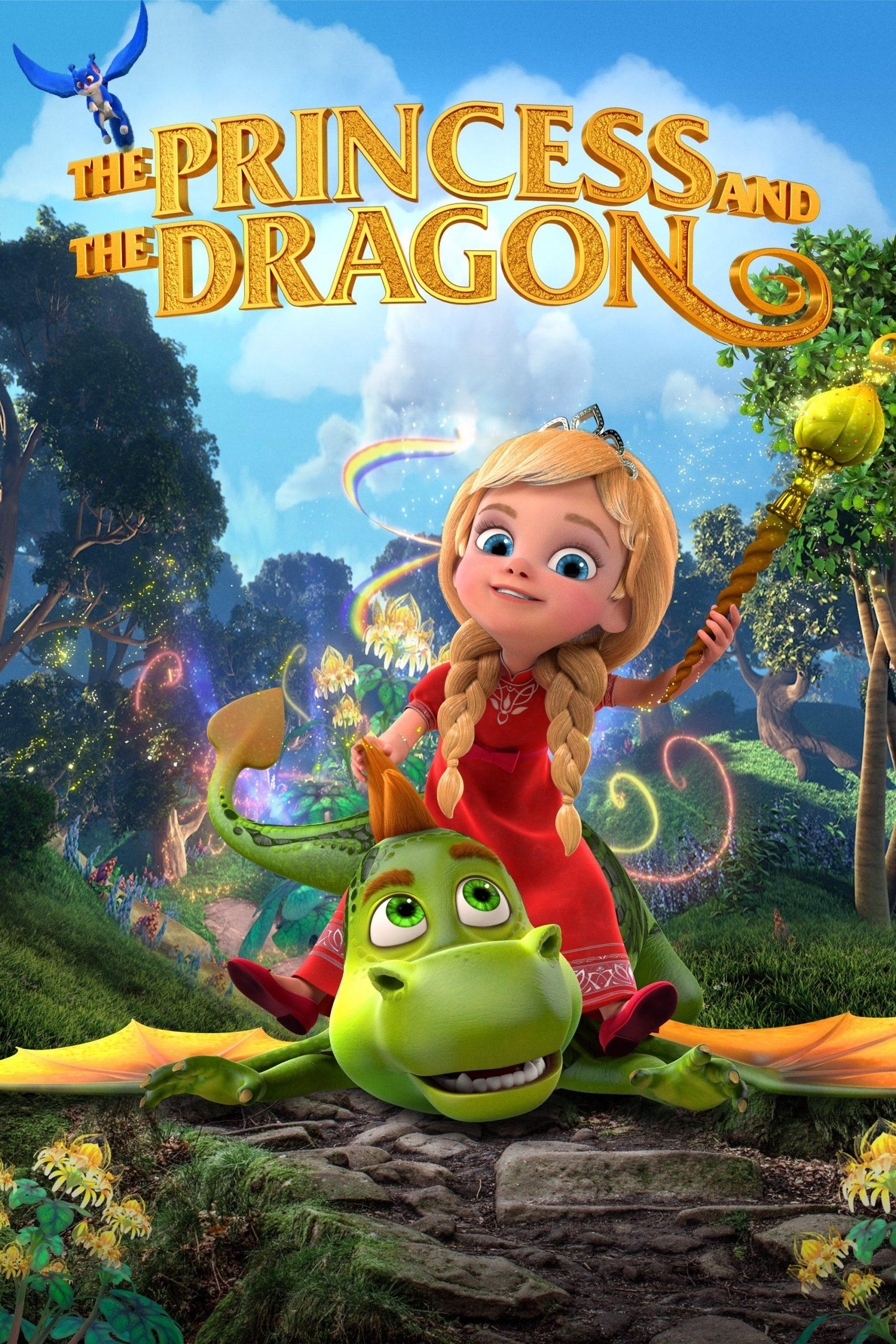 دانلود انیمیشنThe Princess and the Dragon 2018 با دوبله فارسی