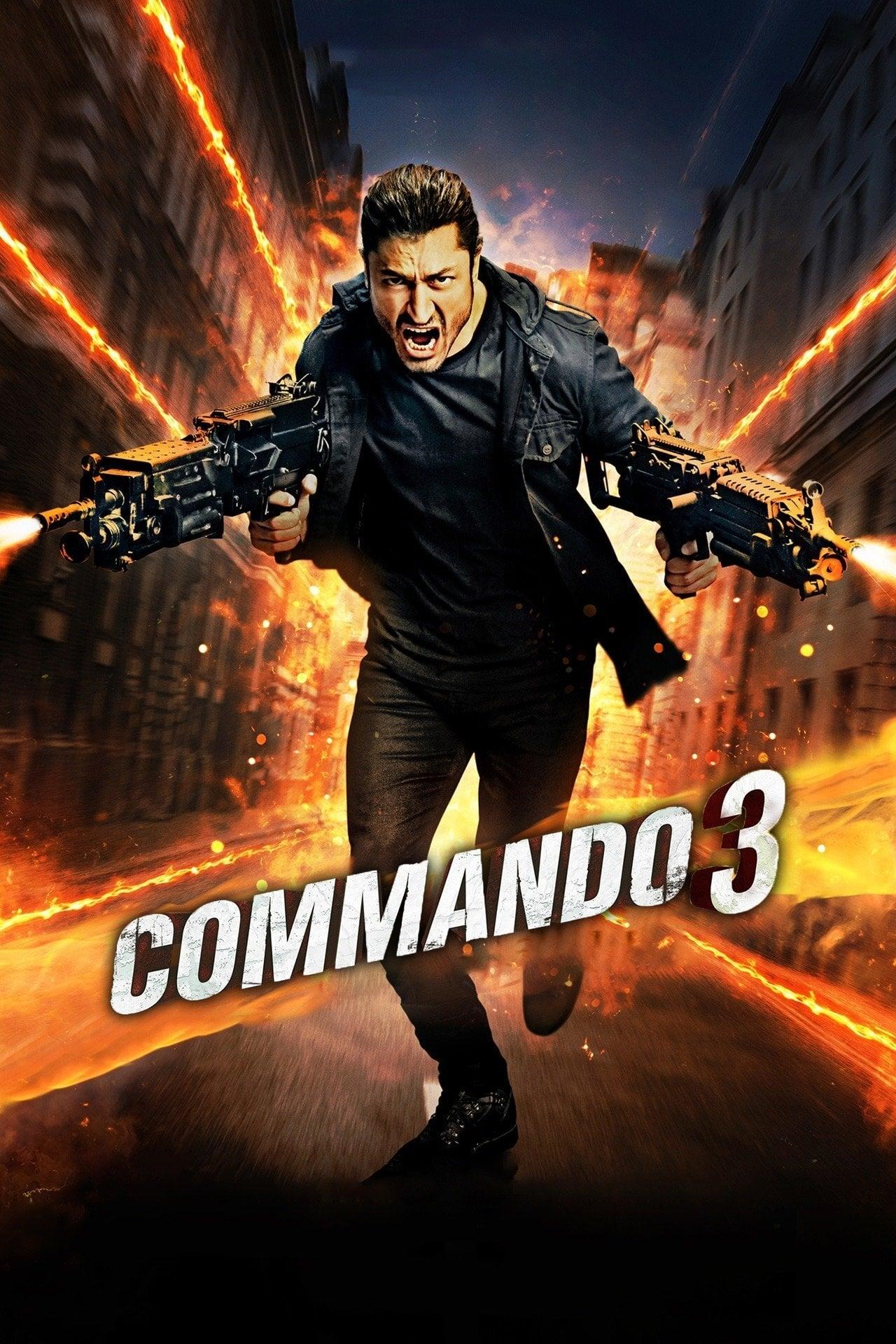 دانلود فیلمCommando 3 2019 با دوبله فارسی