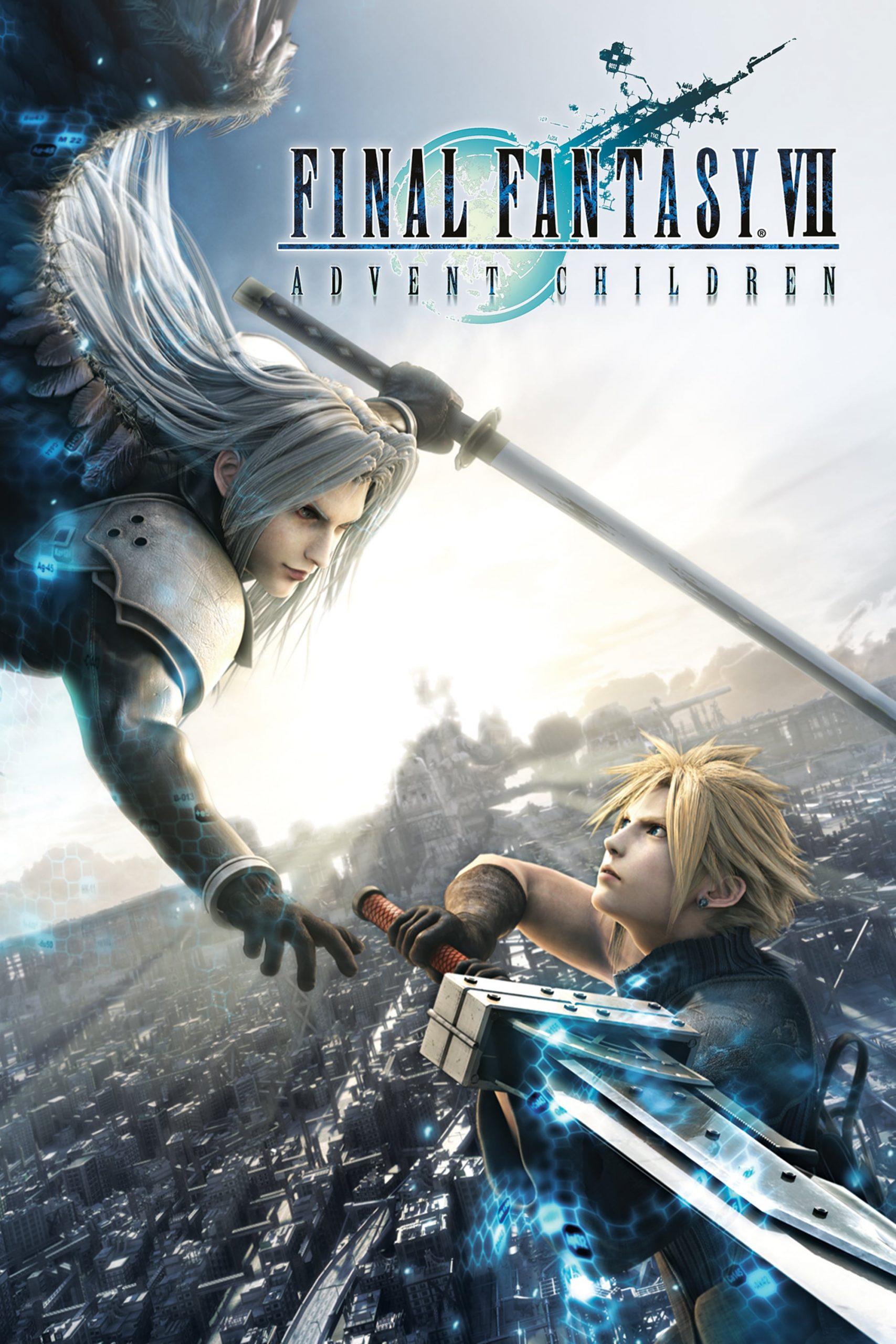 دانلود انیمیشنFinal Fantasy VII: Advent Children 2005 با دوبله فارسی