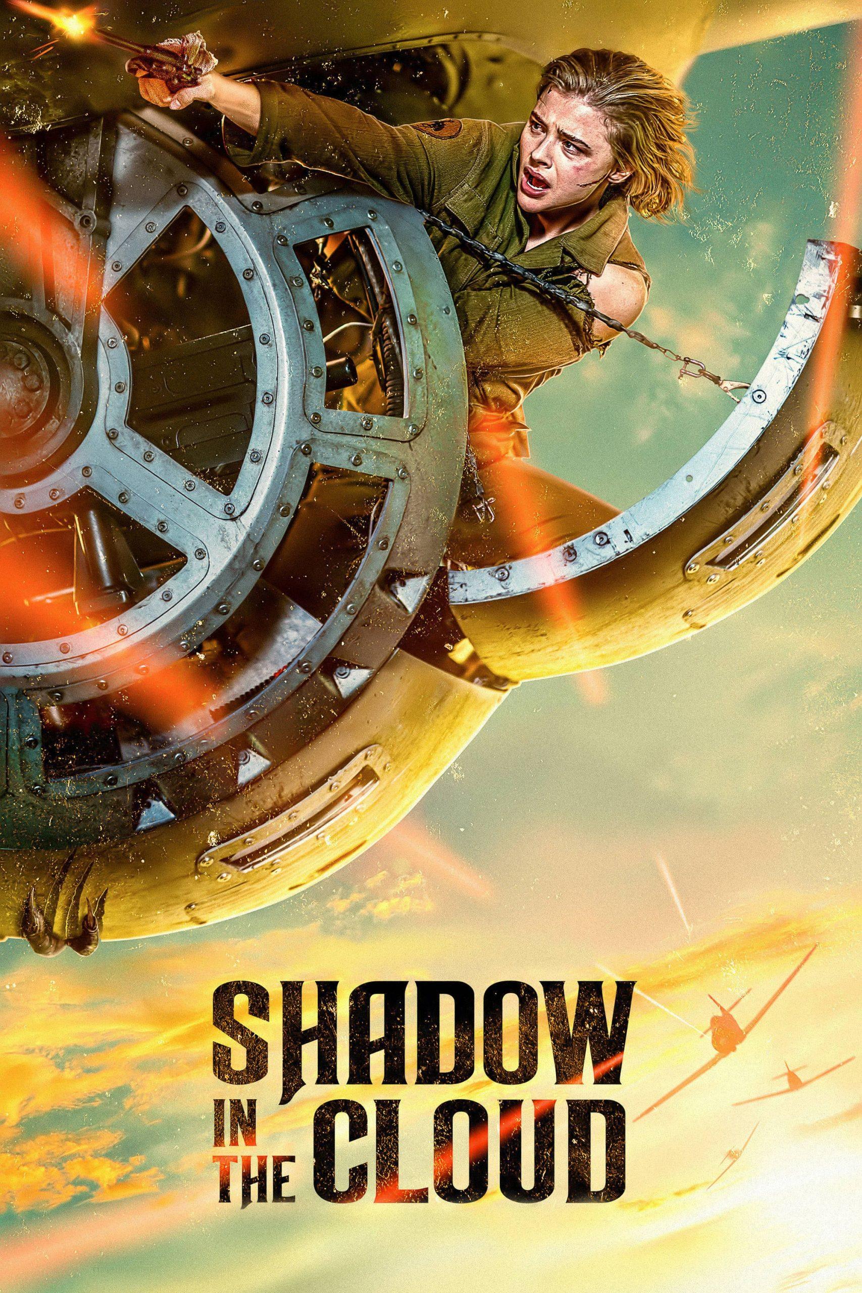 دانلود فیلمShadow in the Cloud 2020 با دوبله فارسی