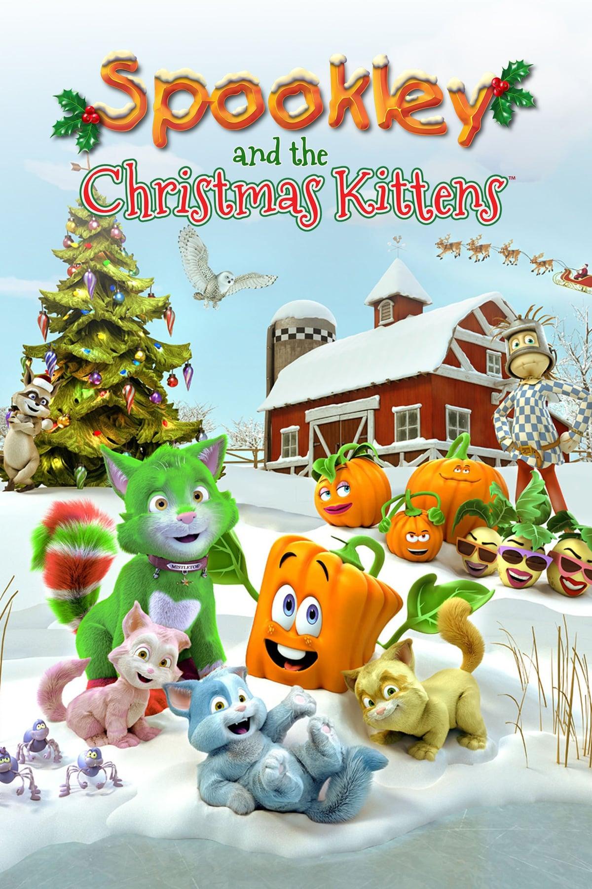 دانلود انیمیشنSpookley and the Christmas Kittens 2019 با دوبله فارسی