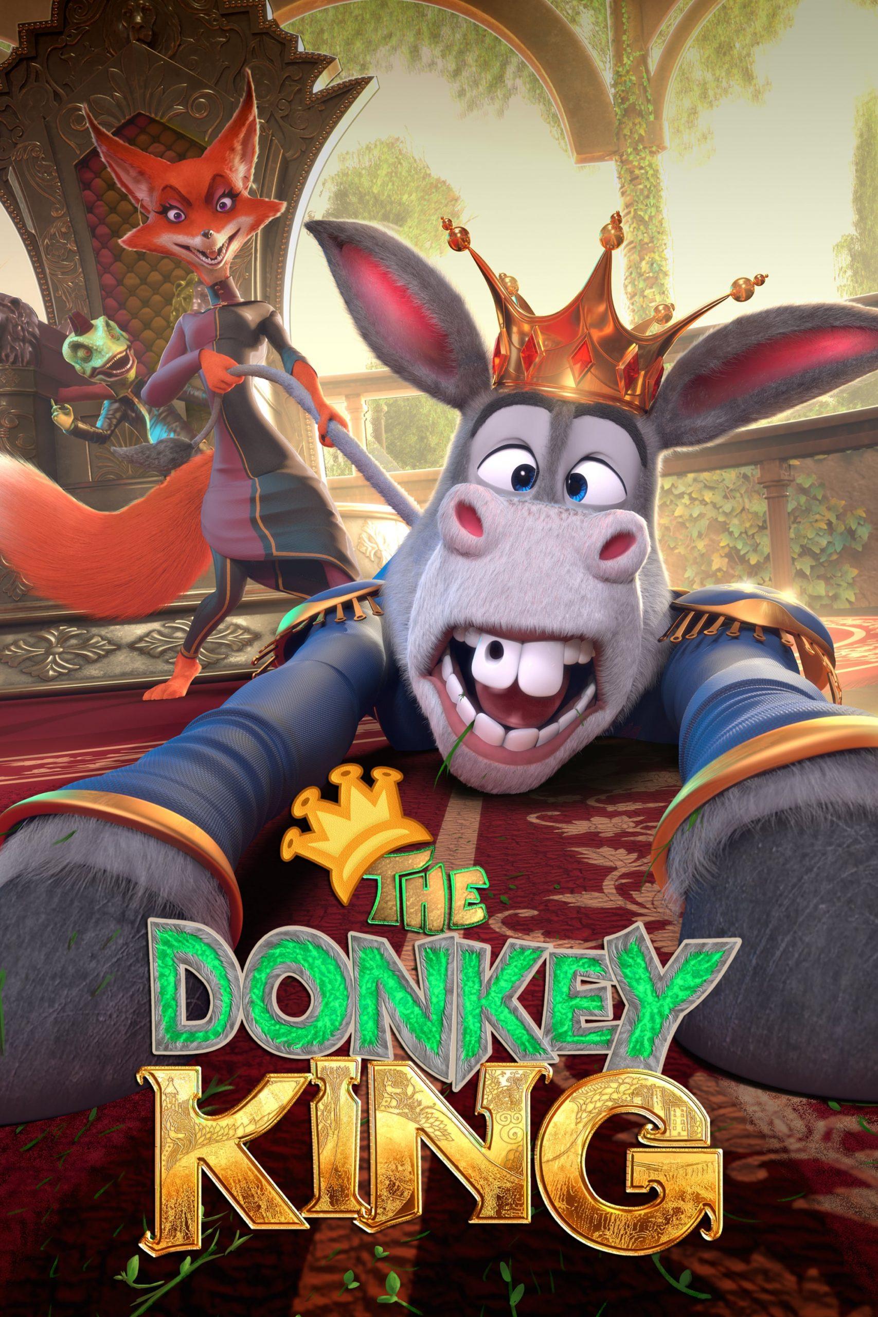 دانلود انیمیشنThe Donkey King 2018 با دوبله فارسی