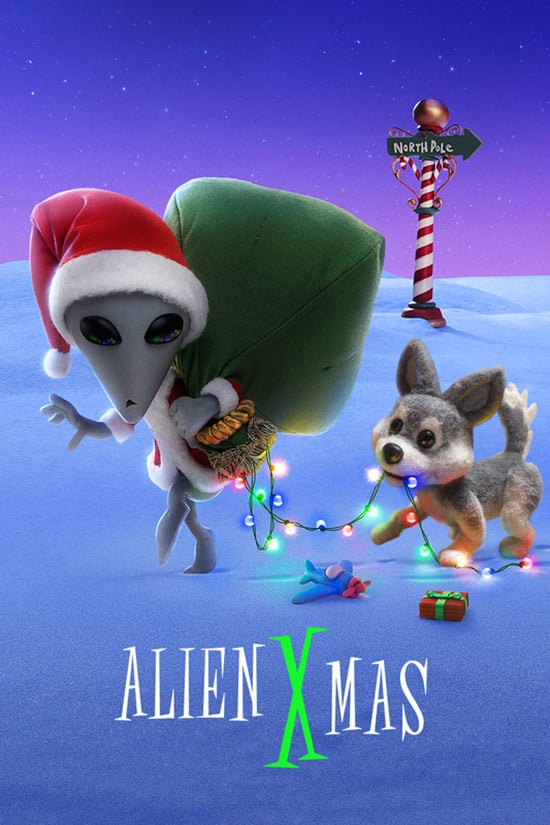دانلود انیمیشن Alien Xmas 2020 با دوبله فارسی