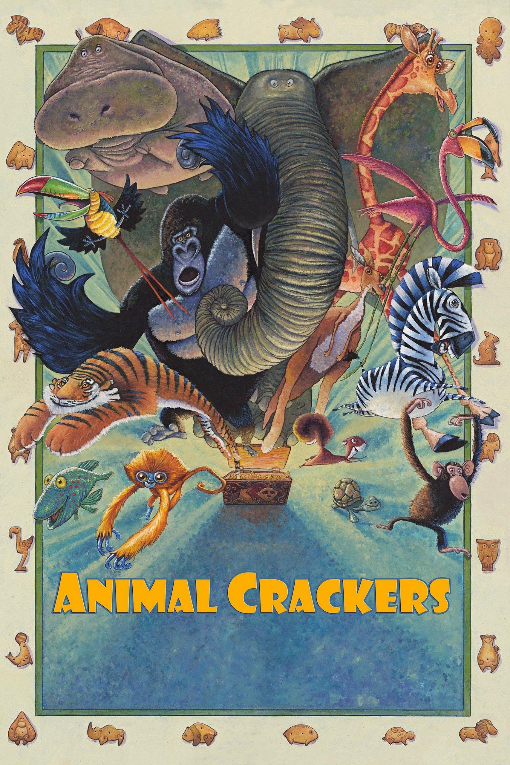 دانلود انیمیشن Animal Crackers 2017 با دوبله فارسی
