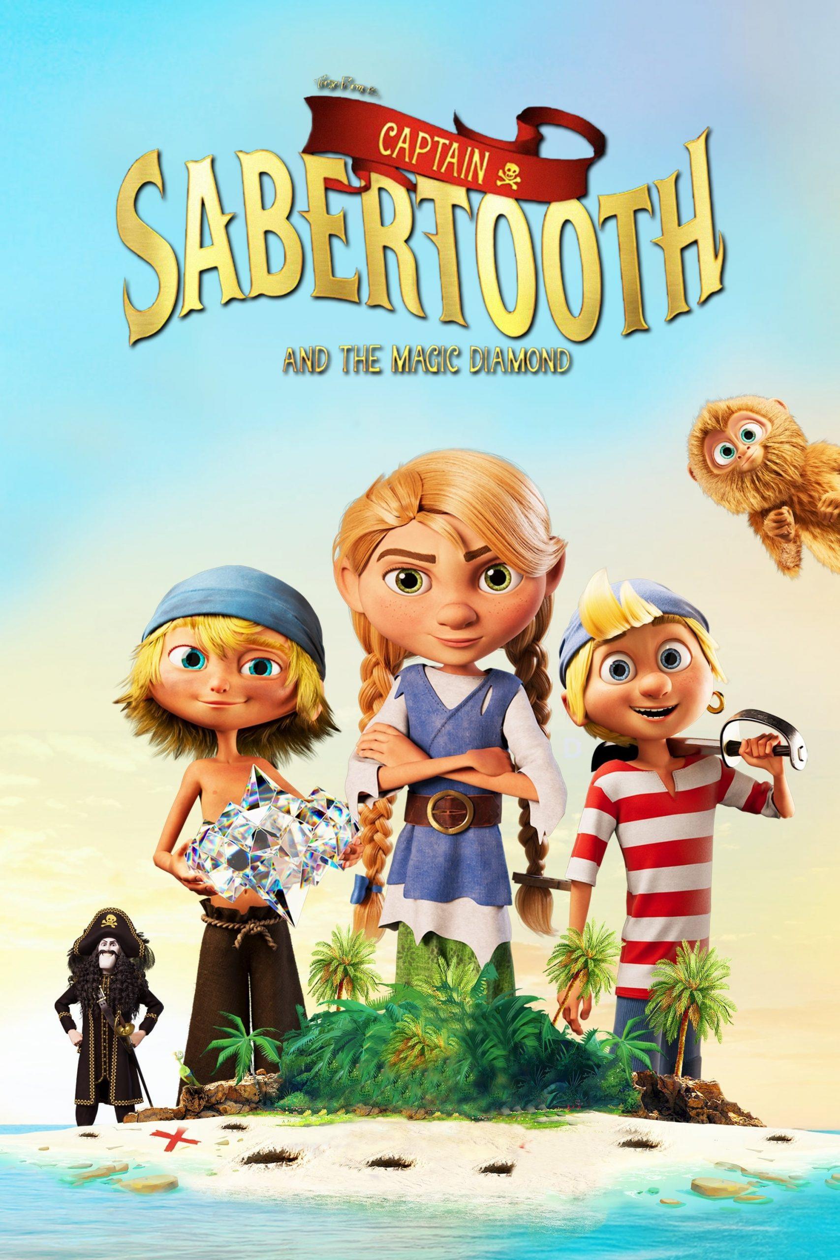 دانلود انیمیشن Captain Sabertooth and the Magical Diamond 2019 با دوبله فارسی