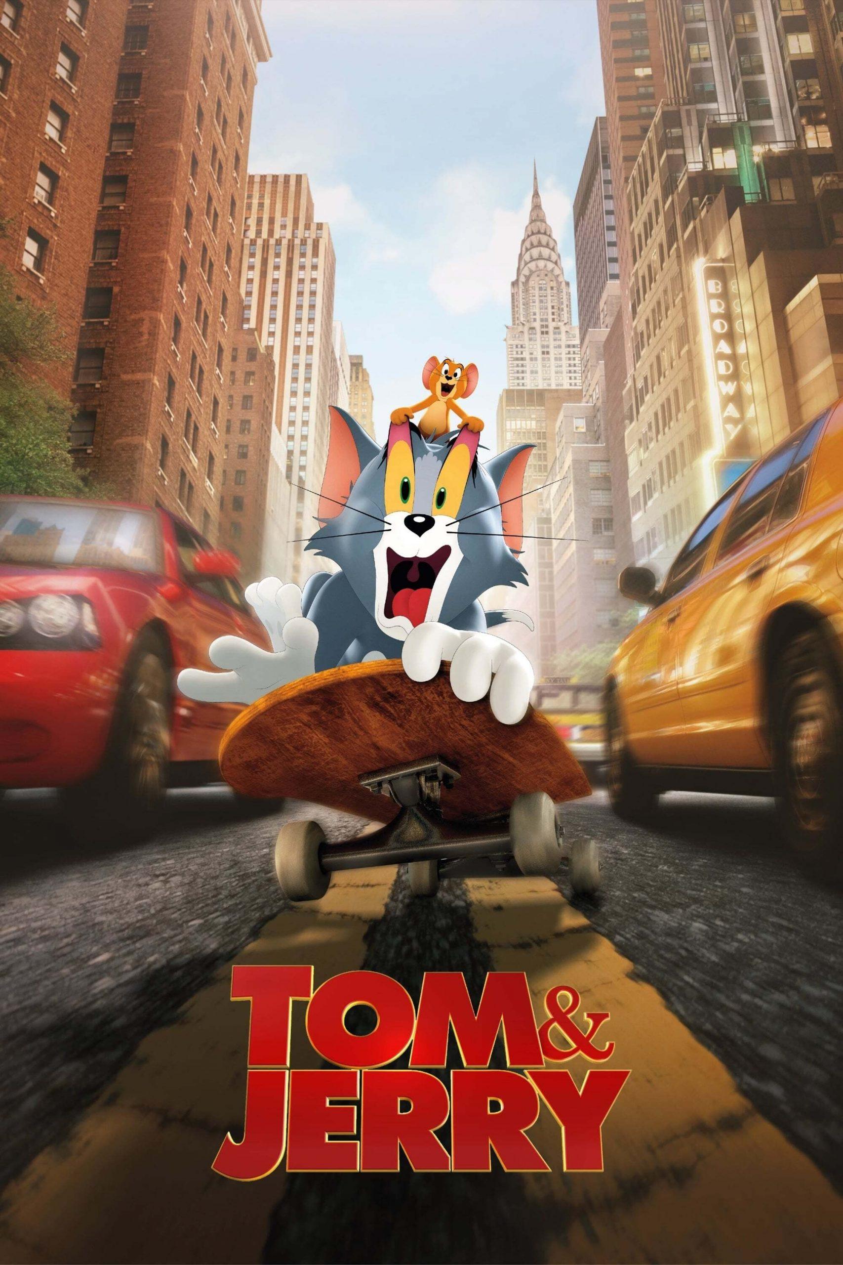 دانلود فیلمTom & Jerry 2021 با دوبله فارسی
