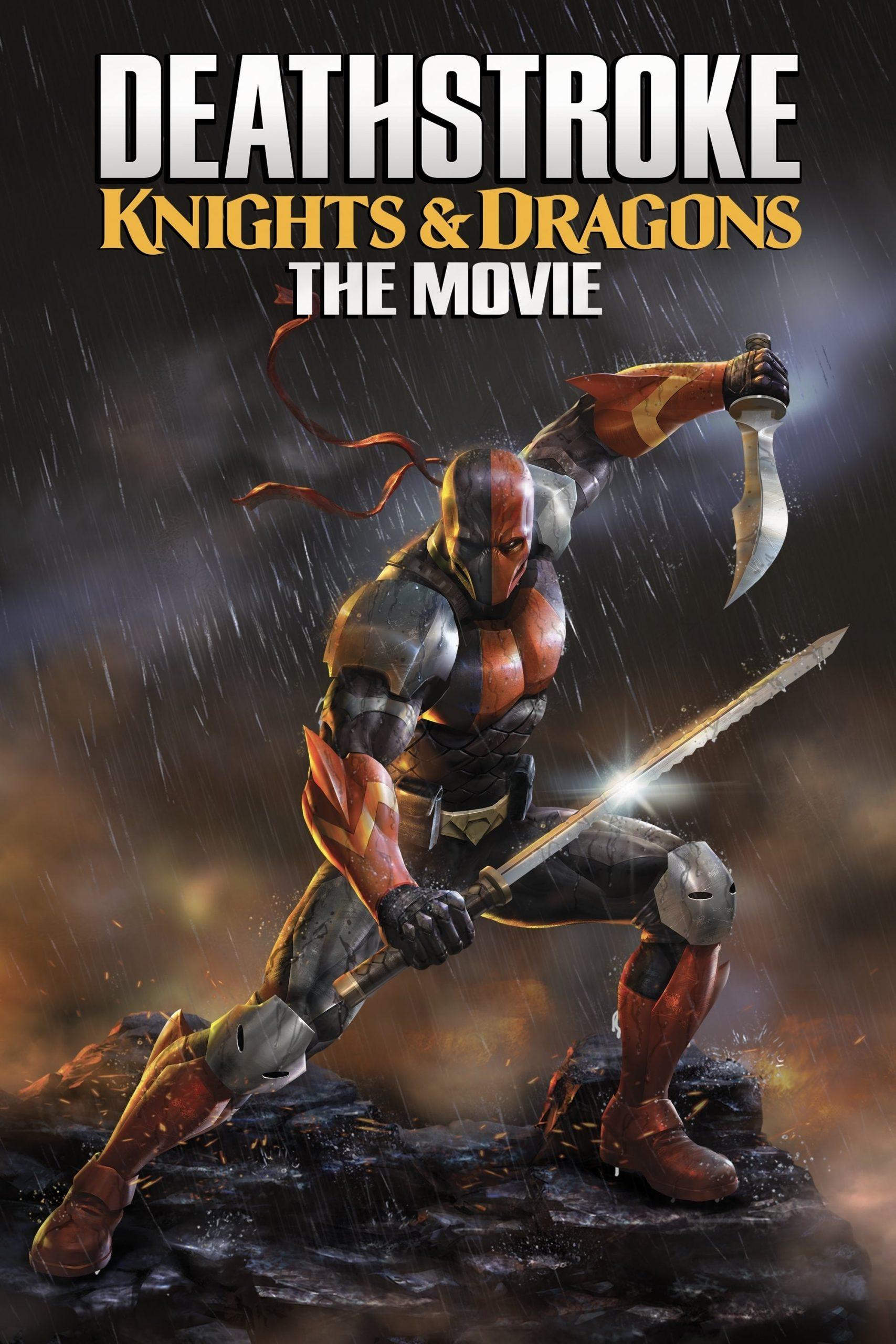 دانلود فیلمDeathstroke: Knights and Dragons The Movie 2020 با دوبله فارسی